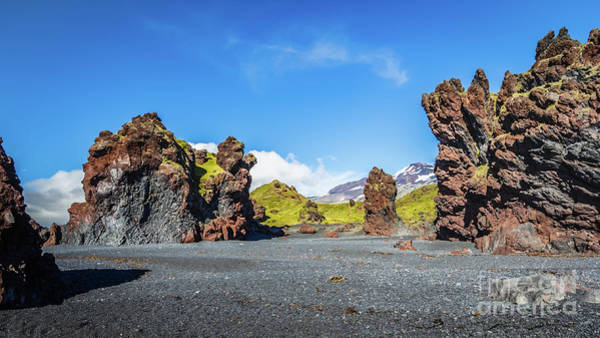 Photograph - Djupalonssandur Beach, Iceland by Lyl Dil Creations