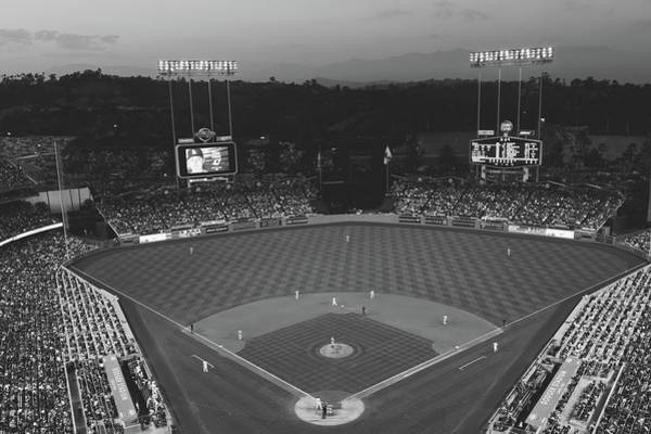 Wall Art - Photograph - Dodger Stadium At Sunset by Mountain Dreams