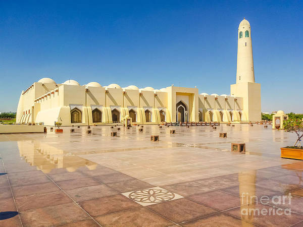 Photograph - Doha Grand Mosque by Benny Marty