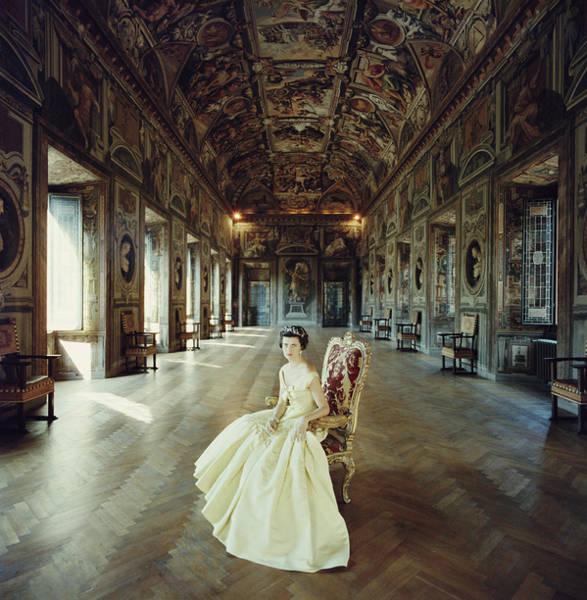 Wealth Photograph - Domitilla Ruspoli by Slim Aarons