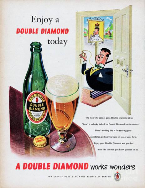 Bottle Cap Photograph - Double Diamond Burton Pale Ale by Picture Post