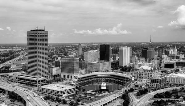 Wall Art - Photograph - Downtown Buffalo And Coca-cola Stadium by Library Of Congress
