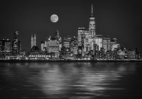 Wall Art - Photograph - Downtown Nyc Skyline  by Susan Candelario