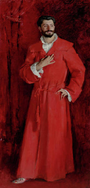 Wall Art - Painting - Dr. Pozzi At Home by John Singer Sargent