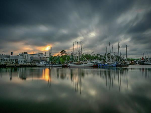 Photograph - Dramatic Bayou Sunset by Brad Boland