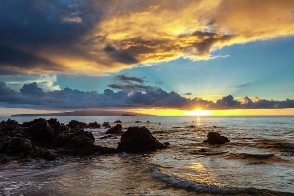 Wall Art - Photograph - Dramatic Clouds During A Sunset by Jenna Szerlag