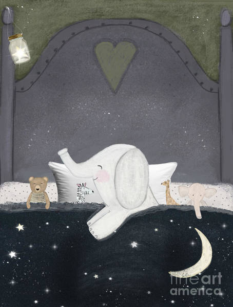 Wall Art - Painting - Dream Big Little One by Bri Buckley