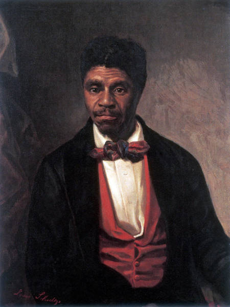 Wall Art - Painting - Dred Scott, American Civil Rights Hero by Science Source