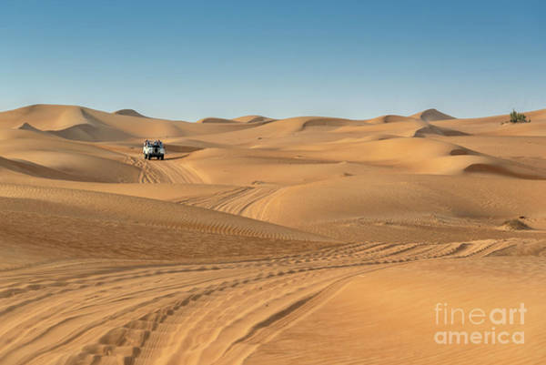 Wall Art - Photograph - Dubai Desert by Delphimages Photo Creations