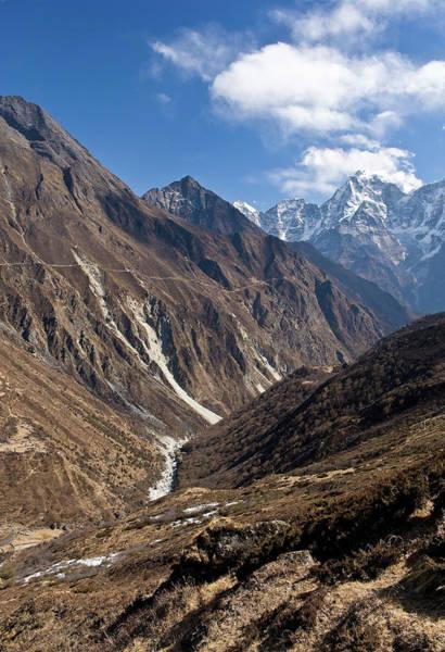 Nepal Wall Art - Photograph - Dudh Kosi Valley, Solu Khumbu Everest by Ben Pipe Photography