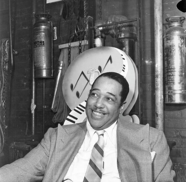 Composer Photograph - Duke Ellington Portrait by Michael Ochs Archives