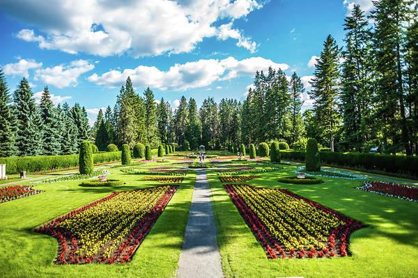 Photograph - Duncan Gardens In Spokane Wshington by Alex Grichenko