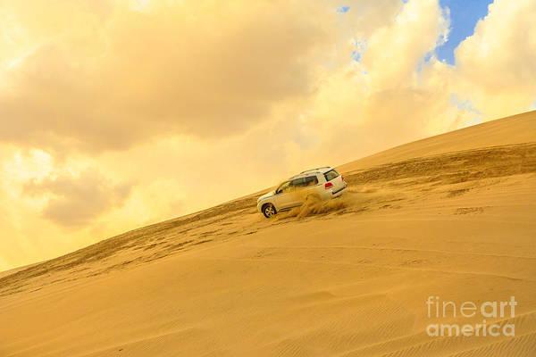 Photograph - Dune Bashing Desert Safari by Benny Marty