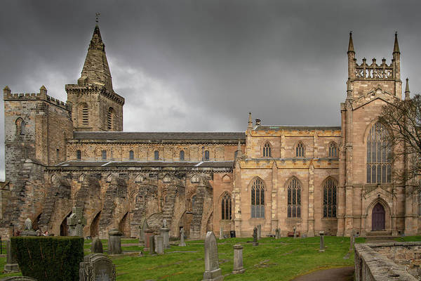 Photograph - Dunfermline Abbey by Ross G Strachan