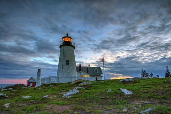 Wall Art - Photograph - Twilight At Pemaquid Point by Rick Berk