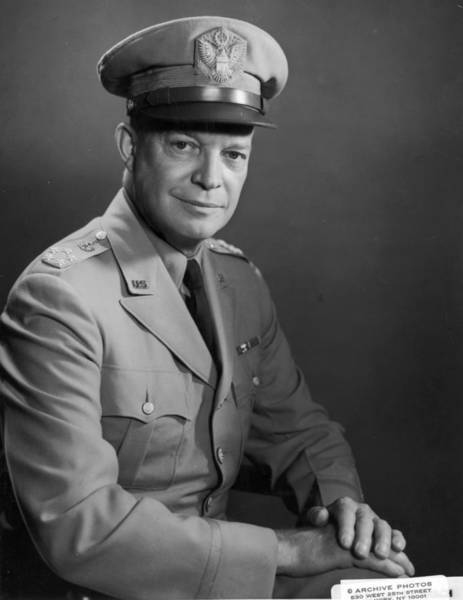 Republican Party Photograph - Dwight D Eisenhower by Hulton Archive