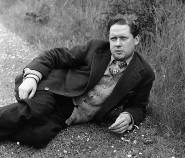 Poet Photograph - Dylan Thomas by Francis Reiss