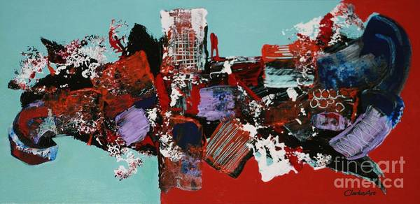 Painting - City Series 2 by Jean Clarke