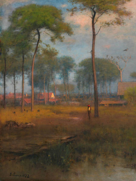 Painting - Early Morning, Tarpon Springs by George Inness