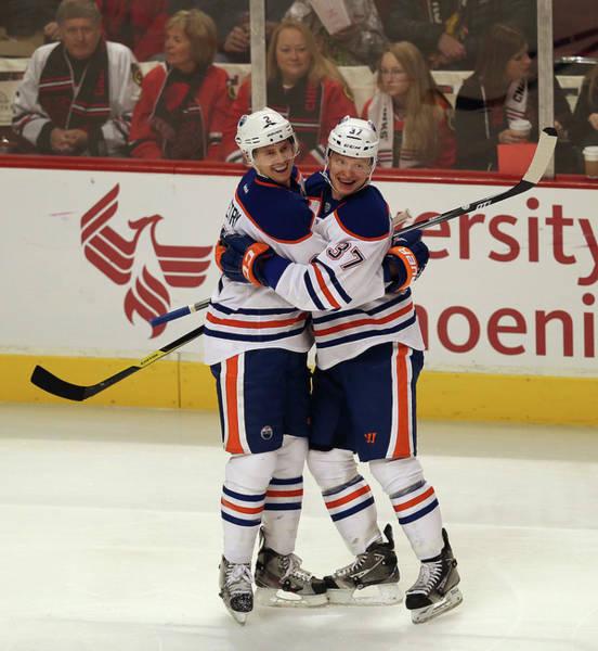 Chicago Blackhawks Photograph - Edmonton Oilers V Chicago Blackhawks by Jonathan Daniel