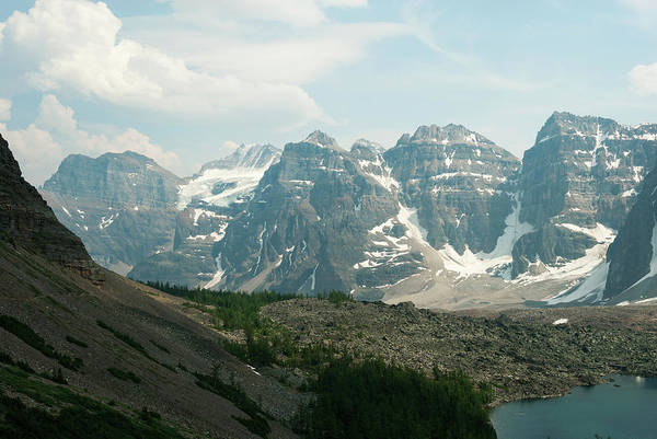 Moraine Lake Photograph - Eiffel Lake And Valley Of The Ten Peaks by John Elk Iii