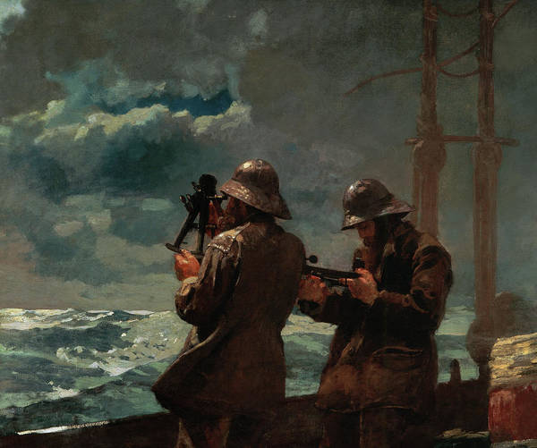 Wall Art - Painting - Eight Bells, 1886 by Winslow Homer