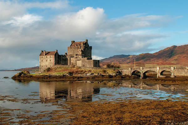 Wall Art - Mixed Media - Eilean Donan Castle by Smart Aviation