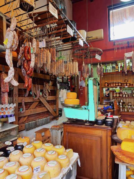 Wall Art - Photograph - El Batara Countryside Food Shop Interior San Antonio De Areco Buenos Aires Province Argentina by imageBROKER - Karol Kozlowski