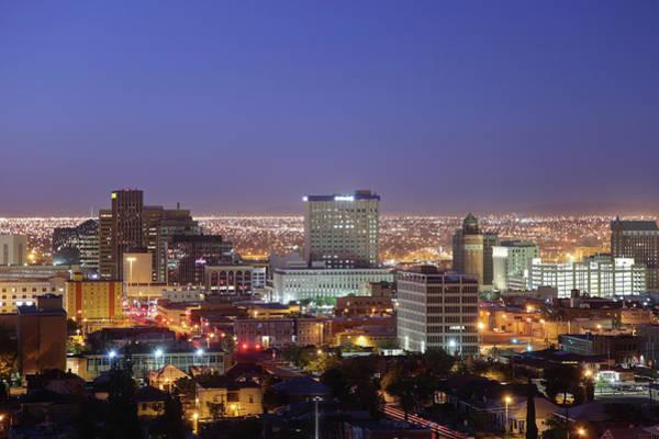 Downtown El Paso Photograph - El Paso by Denistangneyjr