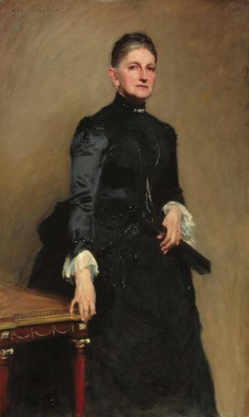 Wall Art - Painting - Eleanora O'donnell Iselin - Mrs. Adrian Iselin by John Singer Sargent