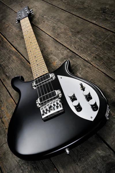 Publication Photograph - Electric Guitar Studio Shoots by Guitarist Magazine