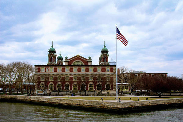 Photograph - Ellis Island by Doc Braham
