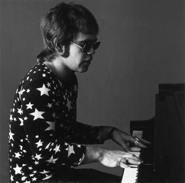 Elton John Photograph - Elton John by Jack Robinson