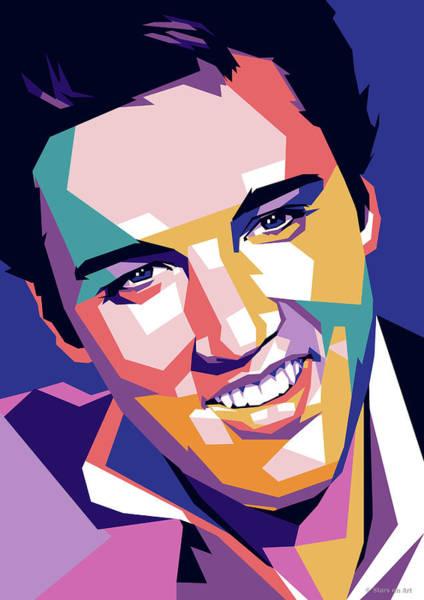 Digital Art - Elvis Presley by Stars on Art