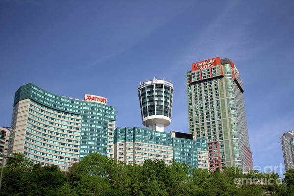Photograph - Embassy Suites Casino - Niagara Falls by Doc Braham