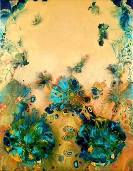 Wall Art - Painting - Emerald City by Sue Goldberg