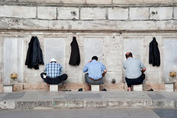 Muslim Photograph - Eminonu, Istanbul, Turkey by Salvator Barki