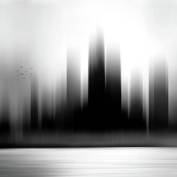 City Scape Digital Art - England by Tim Palmer