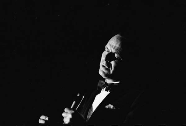 Florida Photograph - Entertainer Frank Sinatra Singing by John Dominis