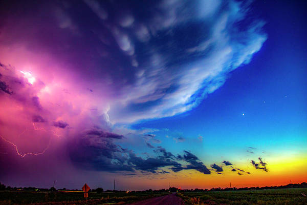 Photograph - Epic Nebraska Lightning 007 by NebraskaSC