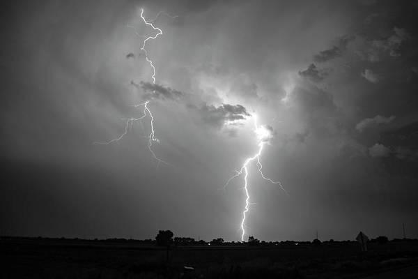 Photograph - Epic Nebraska Lightning 032 by NebraskaSC