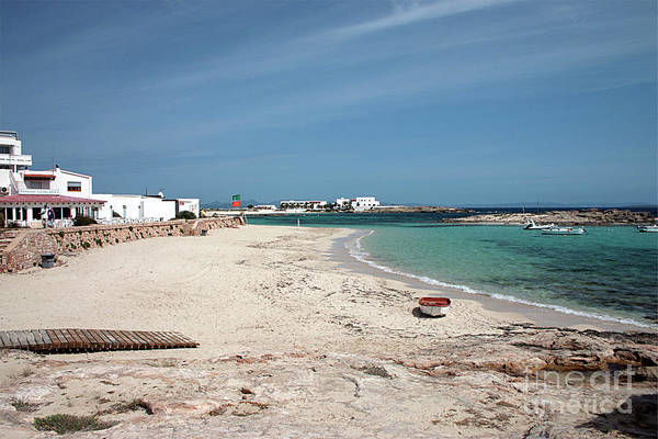 Sea View Digital Art - Es Pujols Beach, Formentera by John Edwards