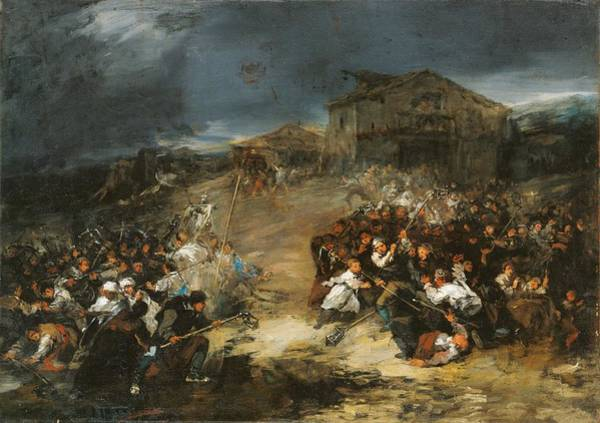 Wall Art - Painting - Eugenio Lucas Velazquez The Dawn Procession C. 1860 by Eugenio Lucas