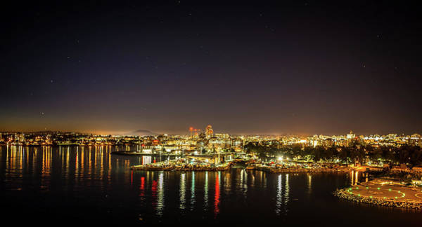 Photograph - Evening Time In City Of Victoria British Columbia Canada by Alex Grichenko