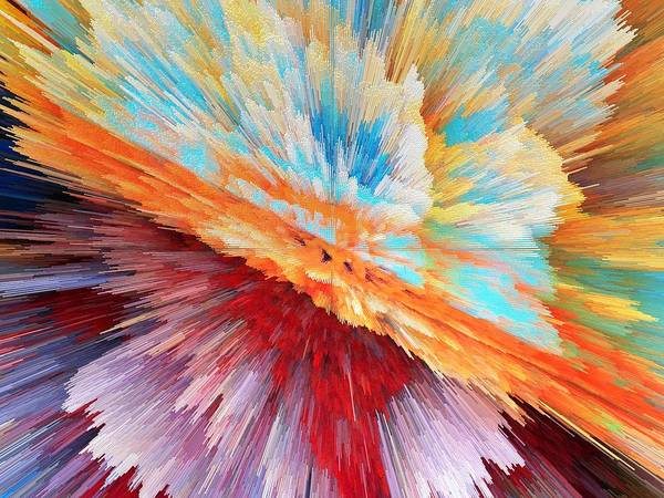 Wall Art - Painting - Explosion by ArtMarketJapan