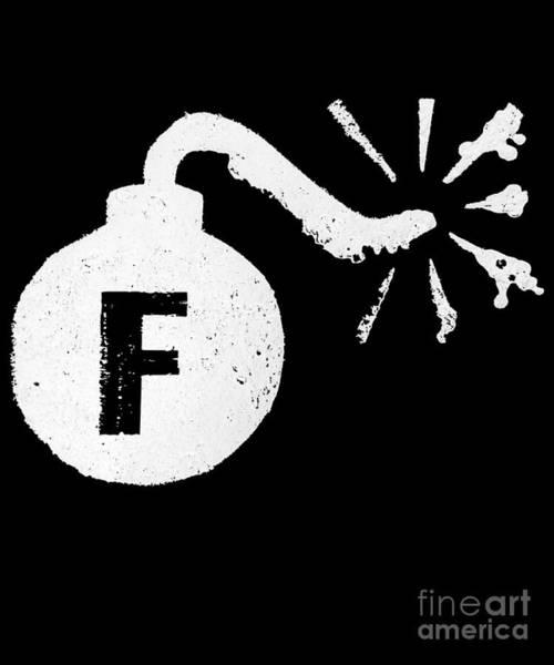 Digital Art - F Bomb by Flippin Sweet Gear