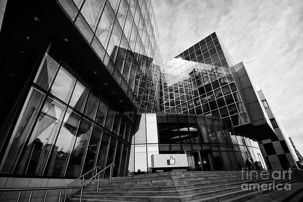 Wall Art - Photograph - Facebook Emea Headquarters 4 Grand Canal Square Dublin Republic Of Ireland Europe by Joe Fox