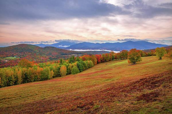 Photograph - Sugar Hill Fall by Robert Clifford