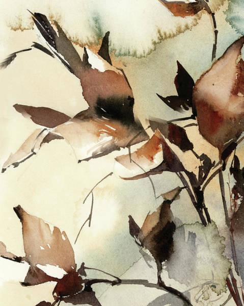 Wall Art - Painting - Fall Leaves by Sophia Rodionov