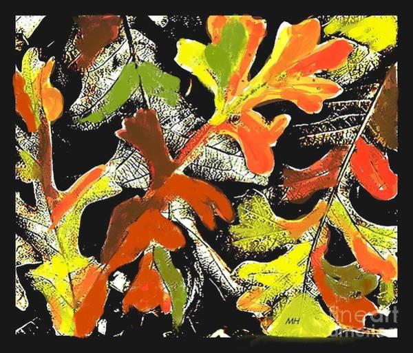 Wall Art - Photograph - Fallen Leaves by Marsha Heiken
